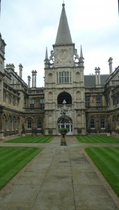 Central Courtyard, Burghley House