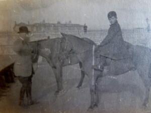 Billy on Horseback