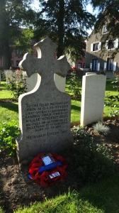 John Lee-Steere's headstone