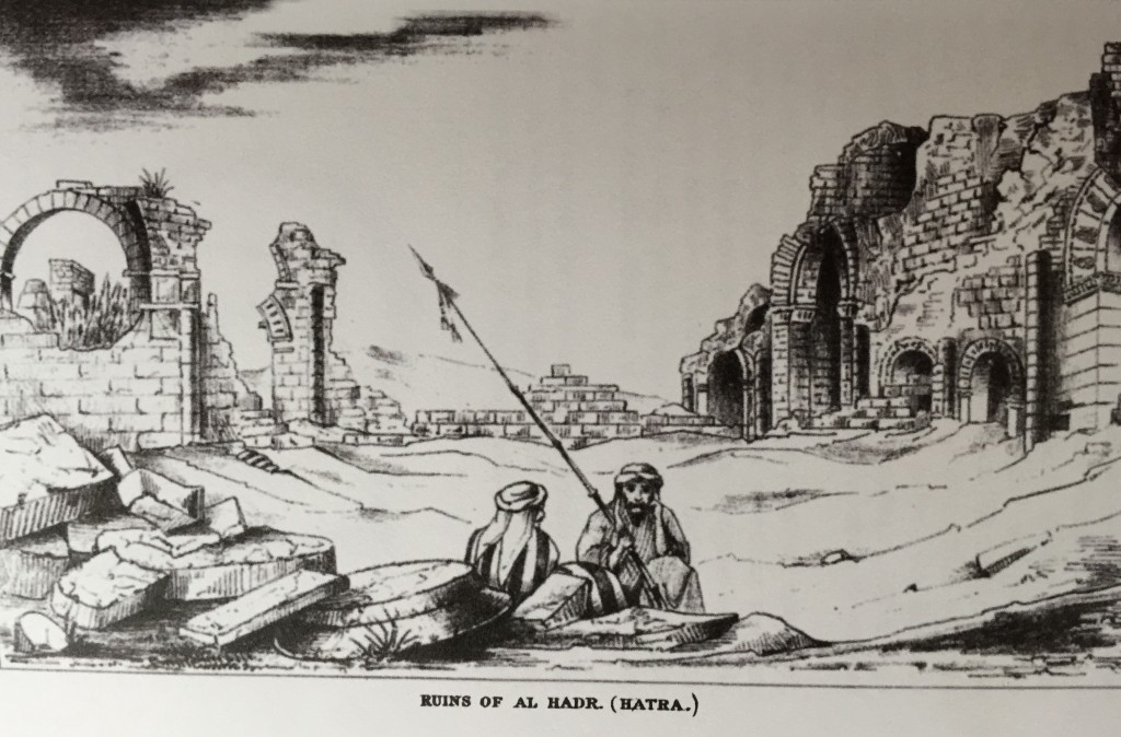 Mitford's sketch of the ruins at Hatra