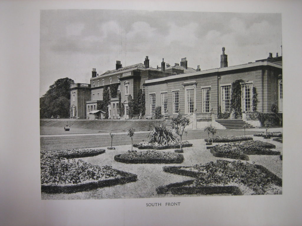 South Front, Didlington Hall